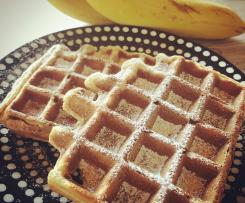 Gaufre light à la banane
