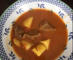 Soupe au Gulash (recette allemande)