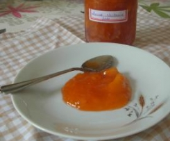 confiture abricot-nectarine