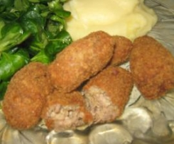Nuggets de canard au fromage ail et fines herbes pour les grands