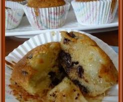 Muffins poire/chocolat