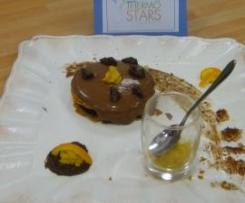 Délice feuilleté chocolat et sa marmelade d'orange