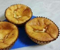 Petits gâteaux mousseux et très légers au lemon curd