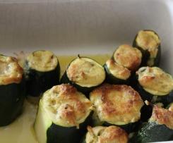 Courgettes farcies végétarienne à l'Italienne