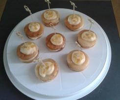 minis gâteaux de crêpes