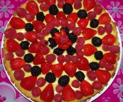 Tarte au Fruits Rouges
