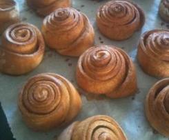 Boules suedoises ou escargots à la cannelle