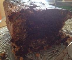 Cake marbré chocolat noisette