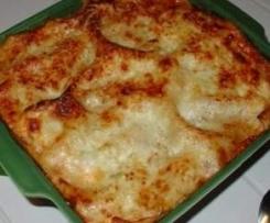 gratin de courgettes au parmesan