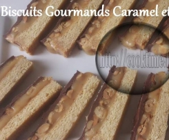 Biscuits Gourmand Caramel et Cacahuètes