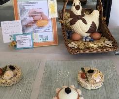 Dôme d'œufs saumoné et son quinoa