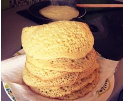 Beghrir (crêpes à la marocaine ou mille trous)