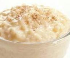 riz au lait crèmeux aux oeufs