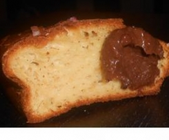 Moelleux à la vanille et sa pâte à tartiner