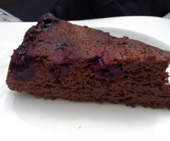 gâteau chocolat cerise