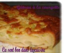 Gâteau à la courgette d' Arlette