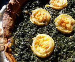 tarte aux épinards sans crème
