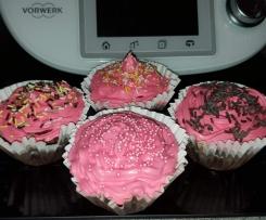 Cupcake chocolat fraise