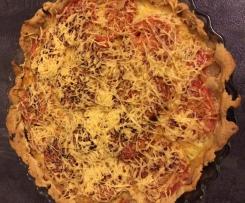 tarte tomates-oignons