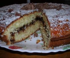 Gâteau au chocolat / coco