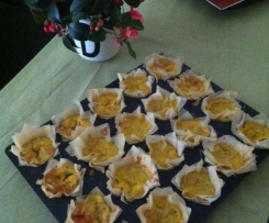Bouchées au fenouil et gorgonzola