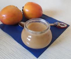 Confiture de kakis à la vanille