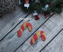 Cookies « cannes de Noël »