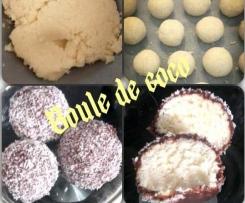 Boules noix de coco