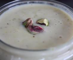 Riz au lait à la pistache
