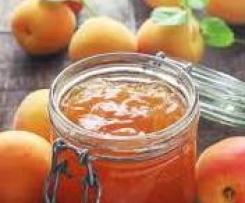 Confiture d'abricots au rhum et aux épices