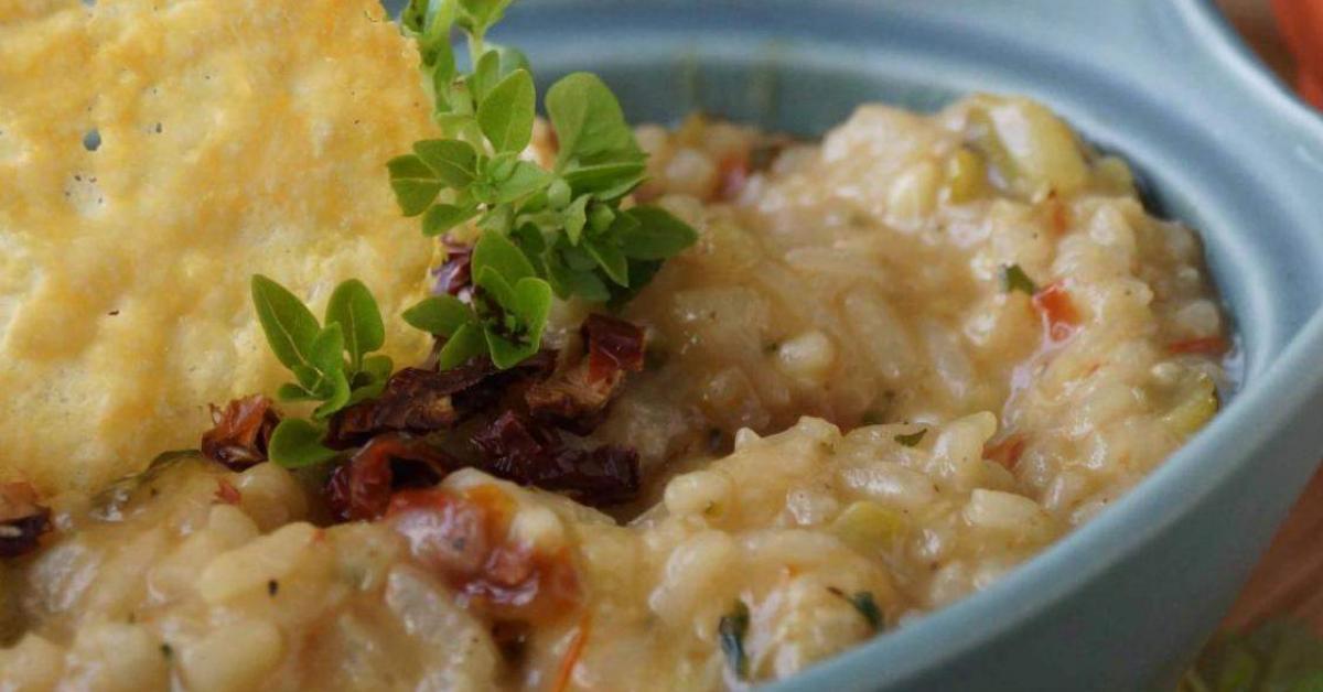 Risotto courgettes tomates s ch es par karineo une recette de fan retrouver dans la - Risotto tomate thermomix ...