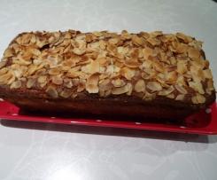 variante de Cake aux pommes et aux amandes
