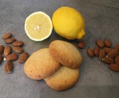 Sablés citron amandes