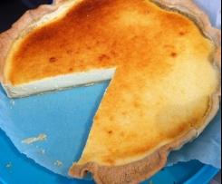 Tarte au fromage blanc d'alsace