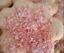 sablés aux biscuits roses