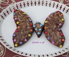 Gâteau en forme de papillon (anniversaire enfant)