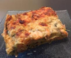 Lasagnes de saumon aux courgettes - pour 6