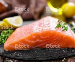 Saumon et petits légumes sauce citron légère