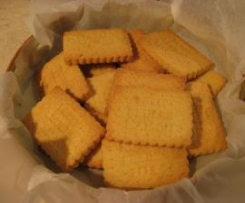 Petits biscuits maison