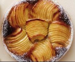 Tarte Bourdaloue aux pommes et noix de Pécan