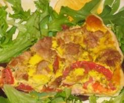 Tarte au thon et à la tomate(bis)