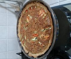 Tarte salée tomates/ courgettes