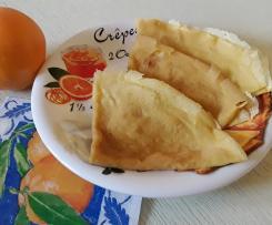 Pâte pour crêpes fines et légères