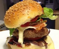 Burger auvergnat et son ketchup maison