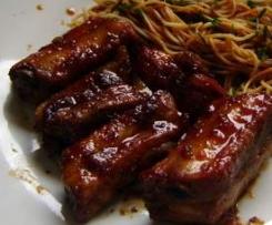 Travers de porc à la chinoise