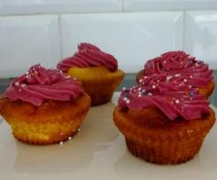Cupcakes cerise-amère