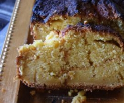 cake a l'orange et son cœur caramel