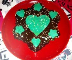 Fondant au chocolat poires & amandes