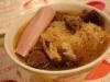 Soupe à la choucroute en bouillon {Au thermomix}
