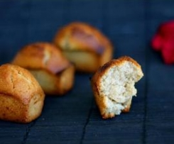 Petits cakes vegan surprise (sans gluten/sans lait/sans oeufs)